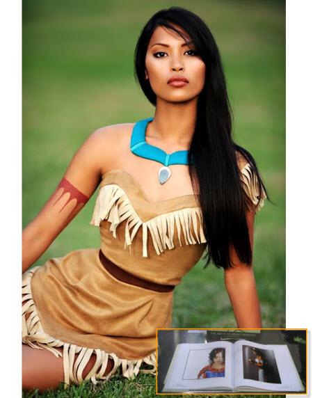 Pocahontas: The Art of Disney Princess Book