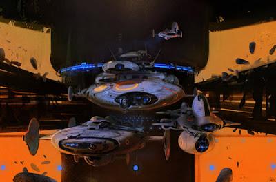 Increibles diseños de naves conceptuales