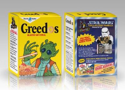 Cajas de cerelaes de Star Wars