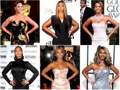 Poses preferidas para las fotos de Beyonce