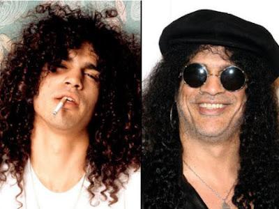 Slash. De jovenes músicos a leyendas del rock