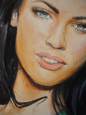 El arte y Megan Fox