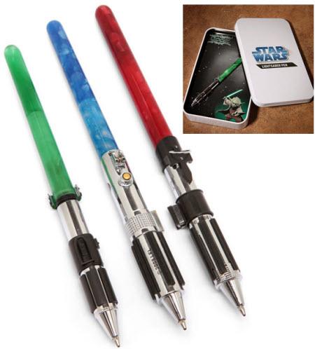 Las Star Wars Lightsaber Pen son unas originales birómes