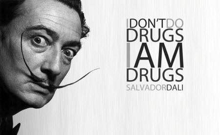 Salvador Dali y las drogas