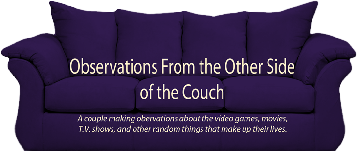 Observations from the Other Side of the Couch
