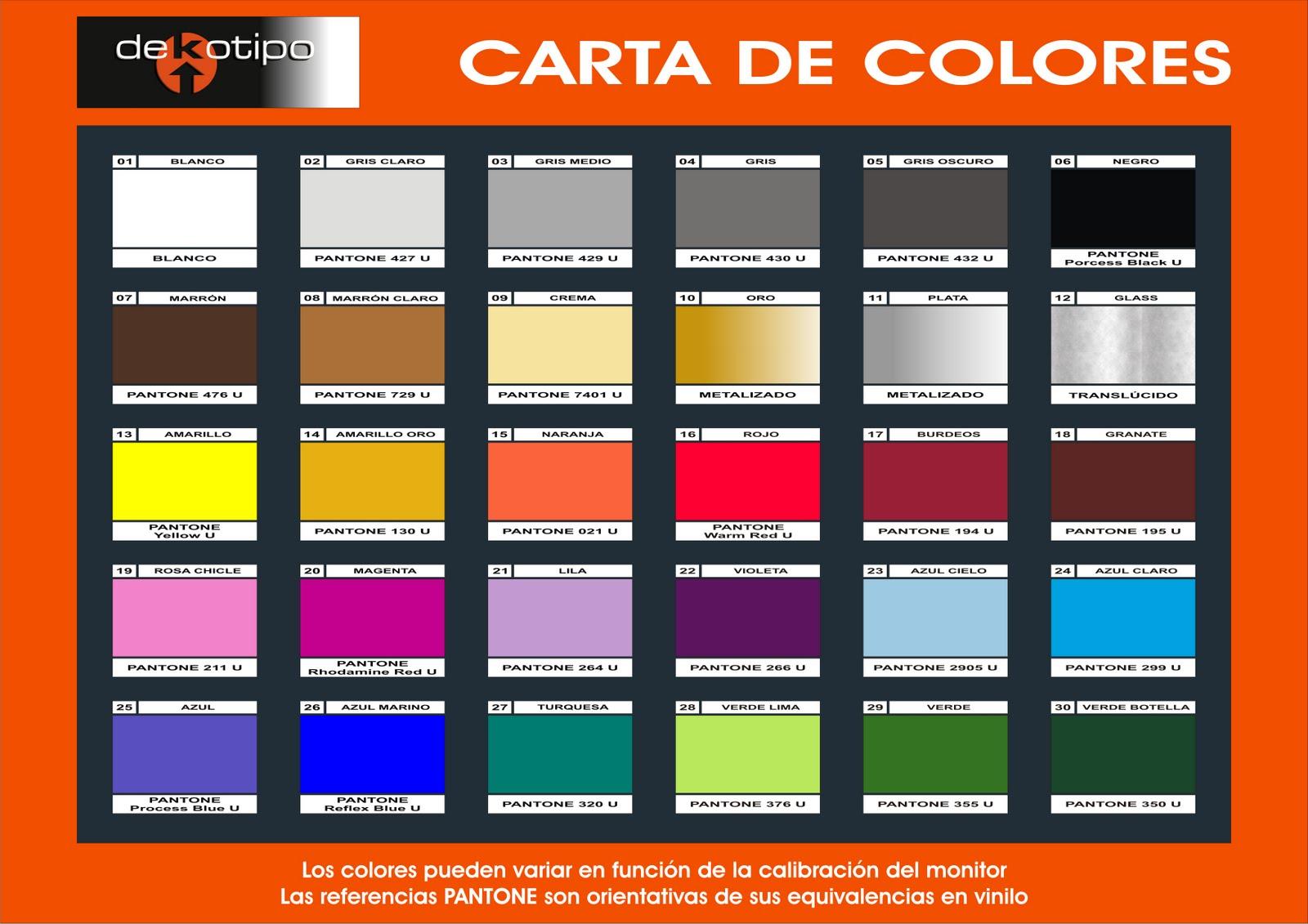 Alta decoraci n en vinilo carta de colores - Gama de colores morados ...