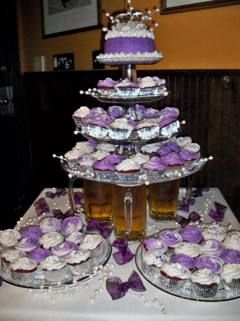 Cupcake Decorations For Wedding