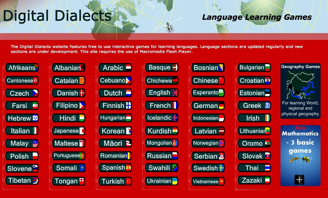 Digital Dialects Language Learning Games Bluesyemre