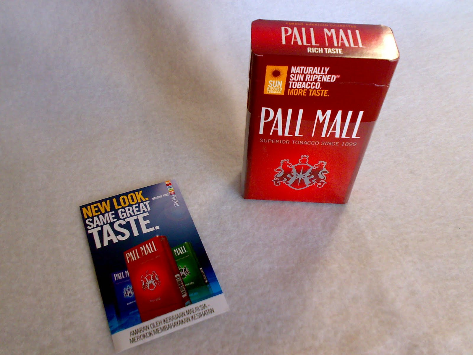 List of cigarettes Lucky Strike brands and price in Ireland