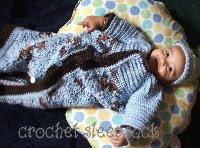 crochet sleep sack pattern
