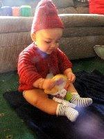 knit raglan sleeve baby sweater pattern