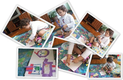 decoupage kids crafts greeting cards