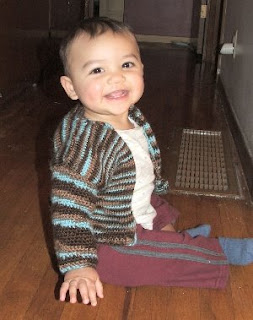 knit baby cardigan pattern