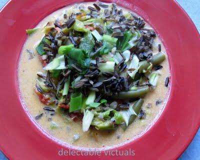 easy recipe wild rice soup