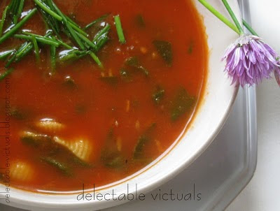 quick and easy tomato florentine soup