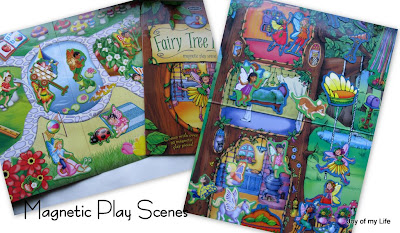 fairy magnetic play scenes
