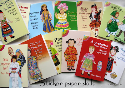 Dover Little Activity Books of Sticker Paper Dolls