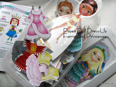 dress up paper doll fairies and princesses book