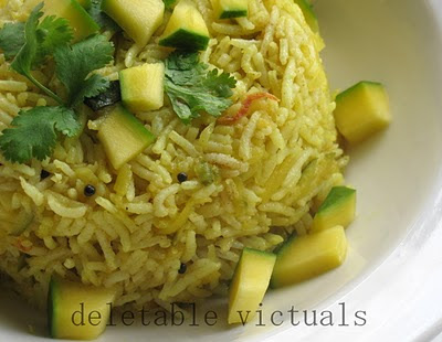 Mango Rice south Indian vegetarian