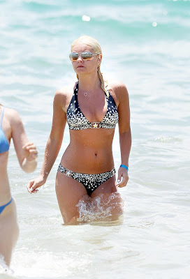 Elisha Cuthbert bikini swinsuit