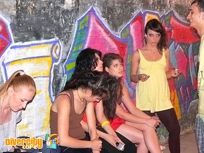 Poze de la filmari videoclip Kalimba - Alb Negru