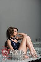 Laura Cosoi in revista Maxim