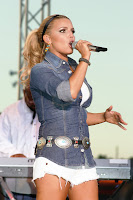 Poze cu Jessica Simpson in concert
