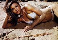 Miranda Kerr topless