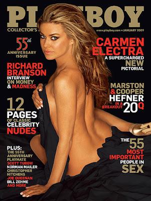 Poze sexy  Carmen Electra in Playboy