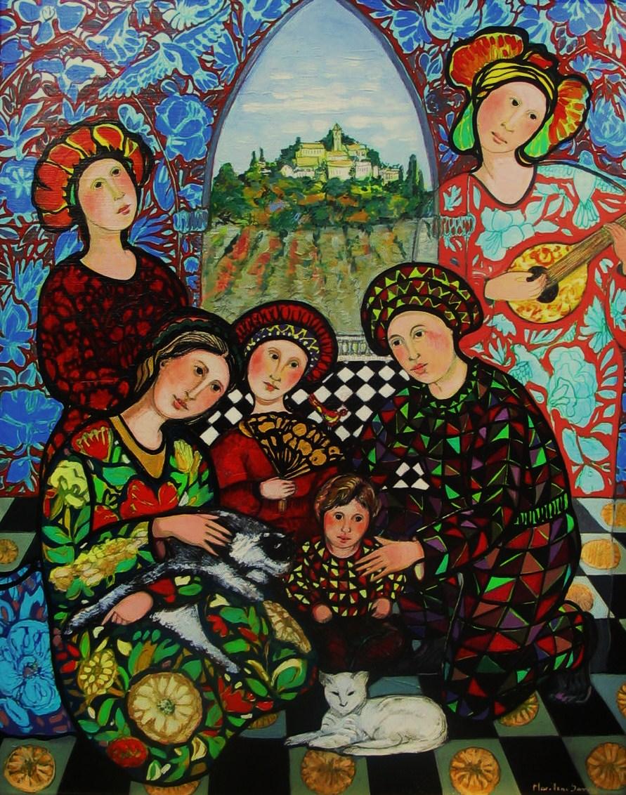 Marilene S Art 1 Figurative Paintings