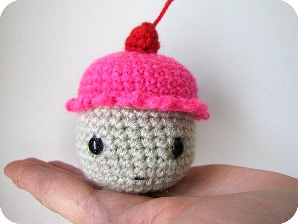 PaisleyJade: Amigurumi Cupcake