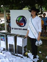 Patricia Castro, rainha da Exponop 2008