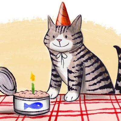happy birthday card by mamarobot