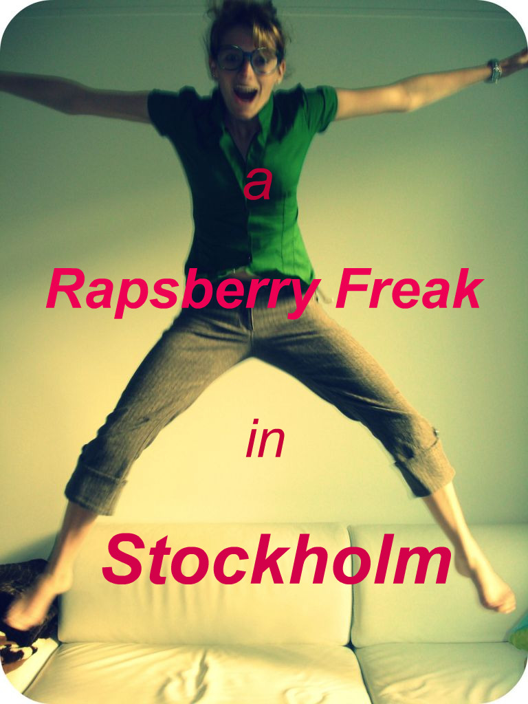 A raspberry freak in Stockholm