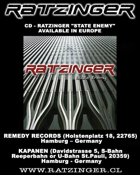 RATZINGER - STATE ENEMY - 2007