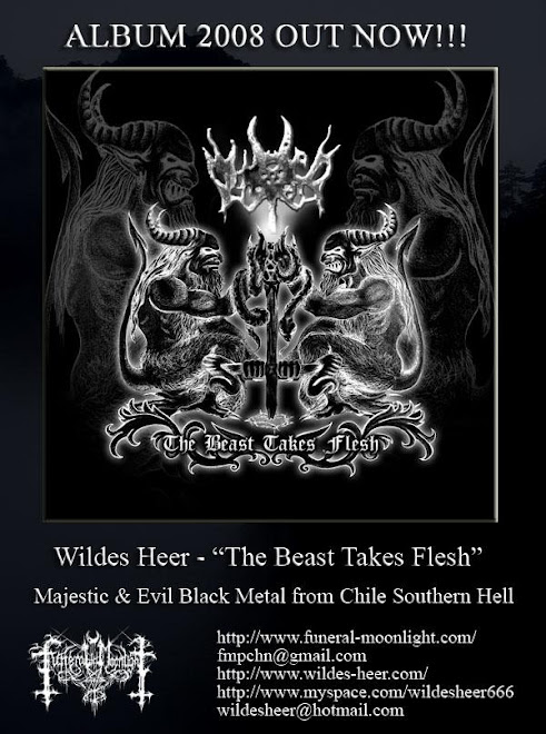 Wildes Heer - The Beast Takes Flesh (2008)