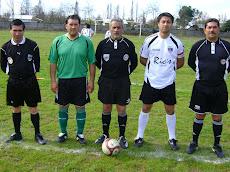 Arbitros que estuvieron en el partido amistoso