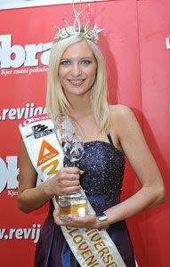 miss universe slovenia slovenijie 2010 marika savsek