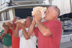 "Conch Blowers From ""A"" Dock"