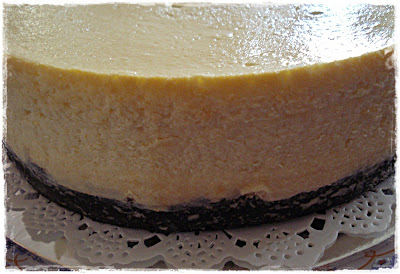 Homemade CHEESE CAKE PLAIN