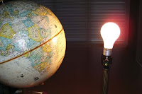 NAMC montessori activity ideas classroom summer solstice globe lightbulb