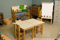 NAMC montessori classroom design prepared environment fostering independence
