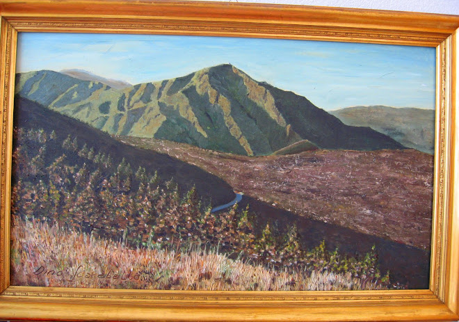 L'ultimo panorama - il monte Tobbio