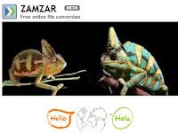 Conversor Zamzar