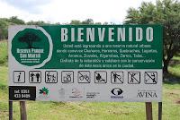 Cartel de Reserva San Martin