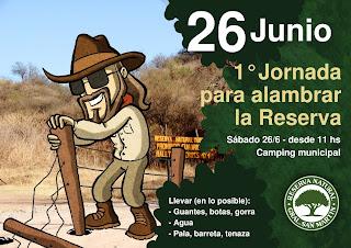 1as Jornadas de Alambrado en la Reserva SM
