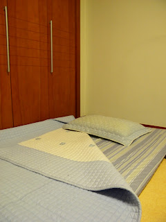 my bed simple a small mat thick blanket and a pillow the heating system in all korean homes are under the floor really cool