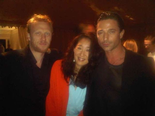 sandra oh and kevin mckidd at the sex and the city after party in    Kevin Mckidd And Sandra Oh