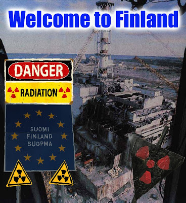 Finland, the land of radiation and nuclear waste