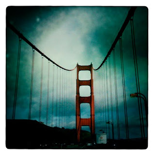 Golden Gate Bridge hipstamatic iPhone photography iphoneography